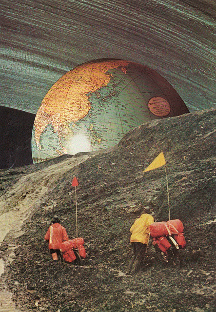 Nomads by collageartbyjesse on Flickr.