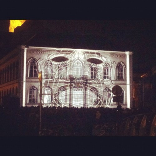 Touristen in eigen stad: lichtfestival@reep (Taken with instagram)