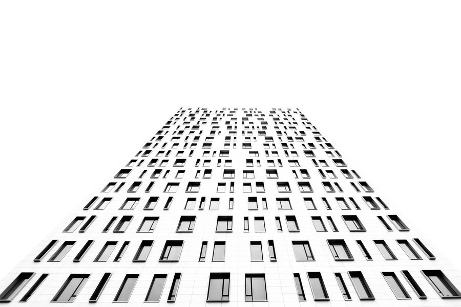 black-and-white:  windows of the sky | by Spectralis