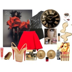Tell Me the Time by stylemystique featuring christian louboutin pumps