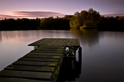 Long Exposure stage on lake by ~Bull04