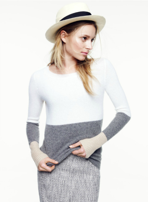 ablogwithaview:  J.Crew Collection, February 2012.