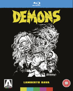DEMONS BLU-RAY OFFICIAL ANNOUNCEMENT Released 02/04/12