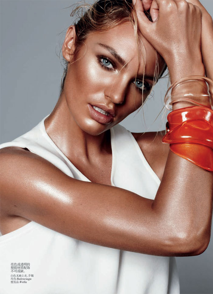 Candice Swanepoel: Vogue China, February 2012