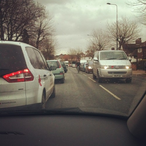 Horrific traffic making me want to die omg (Taken with instagram)
