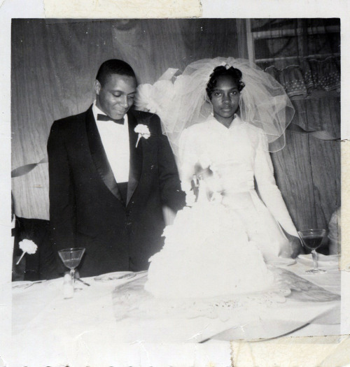 Cut the Cake February, 1962 [Black Bride Series] ©WaheedPhotoArchive, 2012