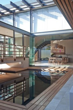 Beautiful elements…  House Aboobaker by Nico van der Meulen Architects