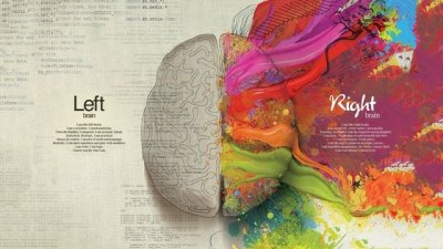 Right vs Left in the brain