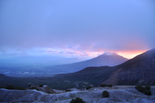 Sunrise at Papandayan, Garut
