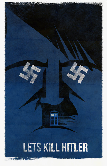 Doctor Who: Let's Kill Hitler by Fro Design Co