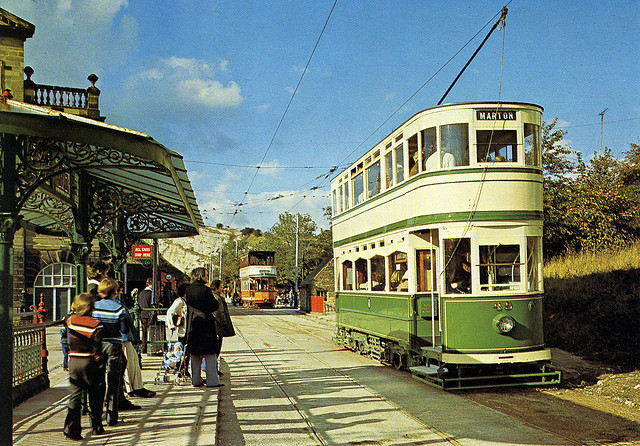 Blackpool Standard Tramcar # 49, Built in 1926, The National Tramway Museum, Crich, Matlock, Derbyshire, England by Striderv is away and offline on Flickr.