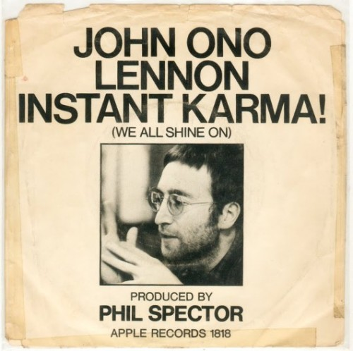 (via 42 years ago today: John Lennon writes and records Instant Karma | The Strut)