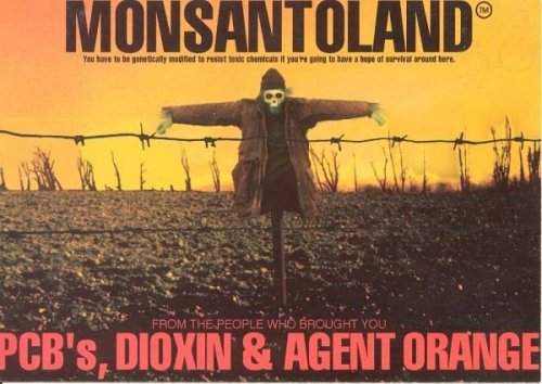 Monsanto wants your permission to poison you, but they will anyway even if you don't sign on…