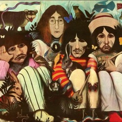 smokeandthebeatles:   This was originally supposed to be the White Album cover.