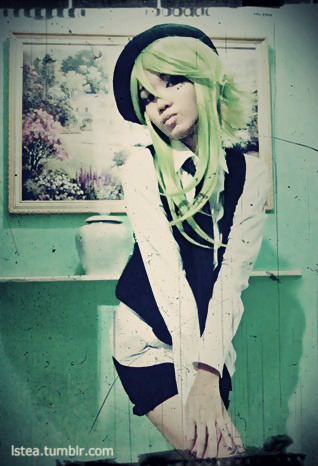 Queue #2: Another Gumi Poker Face version trial shot. Costrip. :D another pic from the same shoot