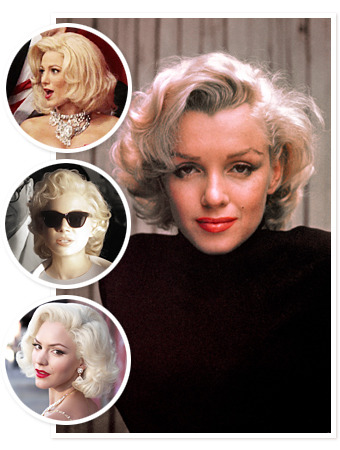 CELEBRITIES as Marilyn Monroe…Check out the gallery!