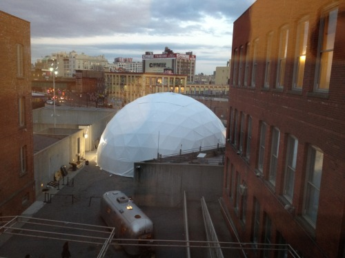 I'm playing in this geodesic dome at MOMA PS1 this Sunday. details here