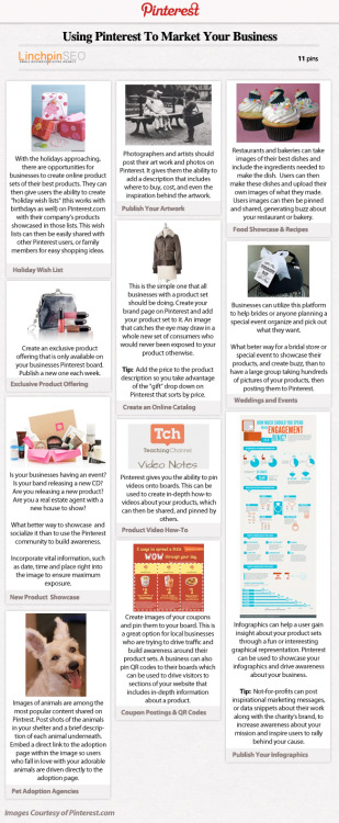 (via Using Pinterest To Promote Your Business [Infographic] | The Blog Herald)