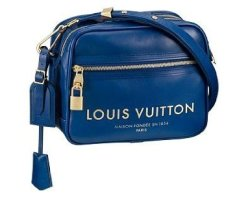 Louis Vuitton Spring Summer 2009 Show Collection: Flight Bags Paname Takeoff Bag (Blue) LOUIS VUITTON Bags is 32% OFF ON SALE