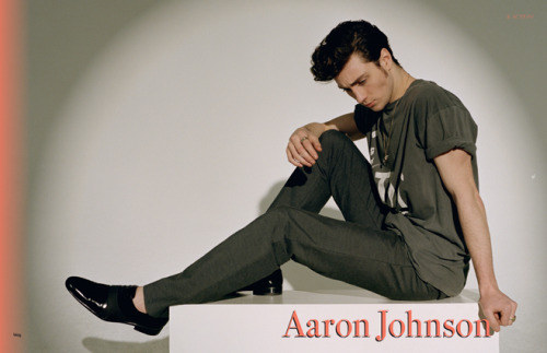 2009 | BLAG Vol.3 Nø 1 & Action! Aaron Johnson Interview and Photography by Sarah