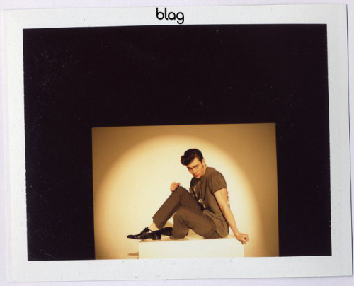 2009 | BLAG Vol.3 Nø 1 Aaron Johnson photoshoot polaroids Photography by Sarah
