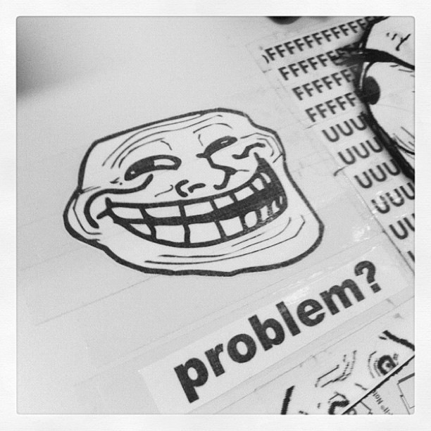 Problem? (Taken with instagram)