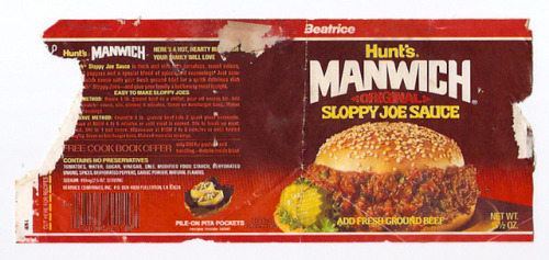 Manwich Source: Flickr