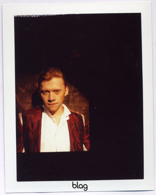 2009 | BLAG Vol.3 Nø 1 Rupert Grint cover shoot polaroids Photography by Sarah