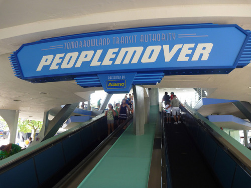 Tomorrowland Transit Authority Peoplemover by partyhare on Flickr.