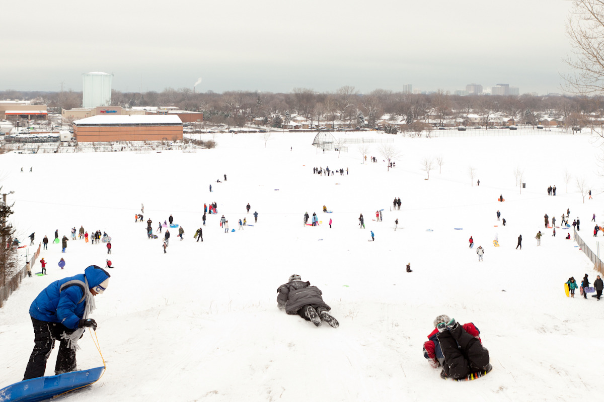 The Snow Giants of Mt. Trashmore