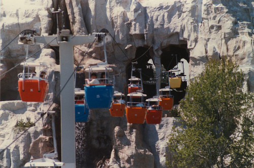 Disneyland Skyway Through the Matterhorn by ATIS547 on Flickr.