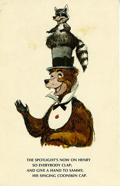 Disneyland CBJ Postcard - Henry by Imagineering My Way on Flickr.