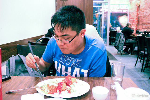 Day 24 January 24, 2012.  DInner with ed and supposedly conly after work out