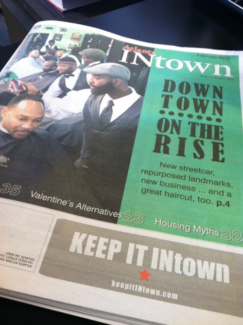 A sneak peek at our February edition with Downtown as our cover story. We update you on the streetcar project, multi-modal terminal at The Gulch, the new playground at Woodruff Park, the future of the historic Imperial Hotel and profile Vintage The Barber Shop featured on in our cover image.