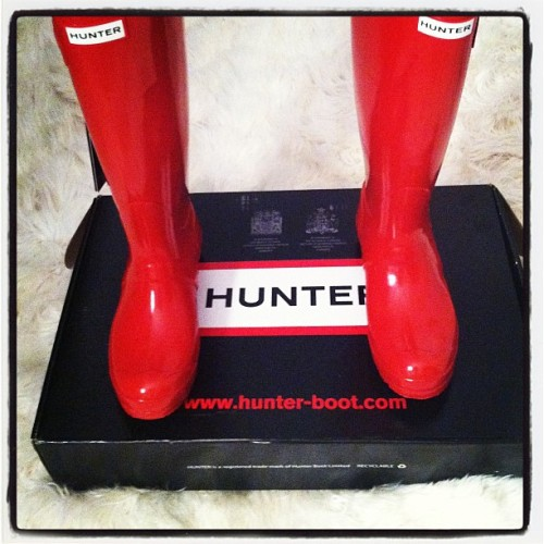 Finally got them :-) #fashion #boots (Taken with instagram)