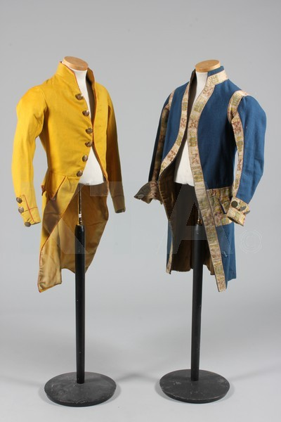 (Above - Left) Jacket, 19th century Italy or Spain (Above - Right) Jacket, 19th century Austria-Hungary (Below) Waistcoats, 19th century Bid here