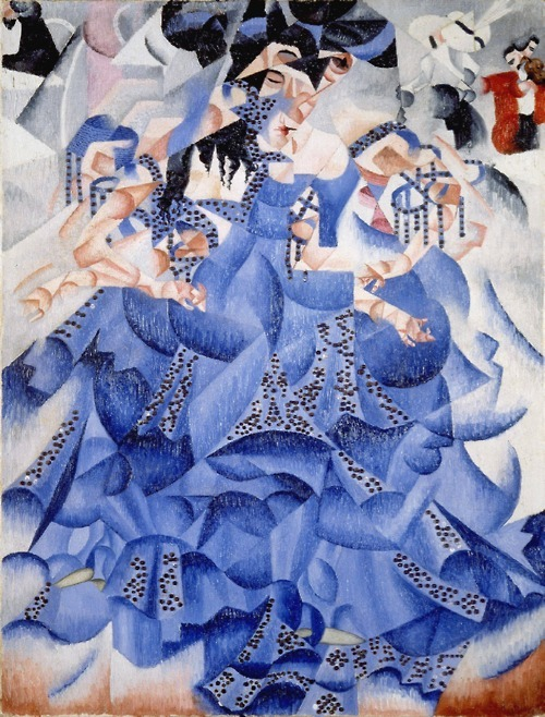 Gino Severini, Blue Dancer, 1912.