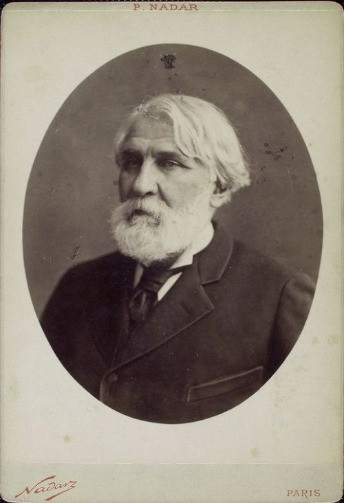 For today's Mustache Monday, we present Ivan Turgenev, a Russian novelist whom everyone should read. But don't take our word for it — what does William Dean Howells have to say? I cannot describe the satisfaction his work gave me; I can only impart some sense of it, perhaps, by saying that it was like a happiness I had been waiting for all my life, and now that it had come, I was richly content forever. (From On Turgenev) Start with the classic Fathers and Sons; NYPL has 171 copies just waiting for you.