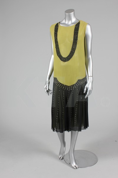 Evening dress, 1927-29 Bid here