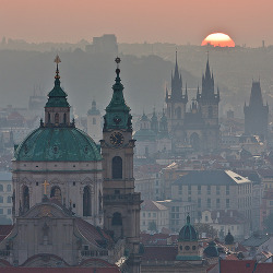 allthingseurope:  Prague, Czech Republic (by Tomas Megis)