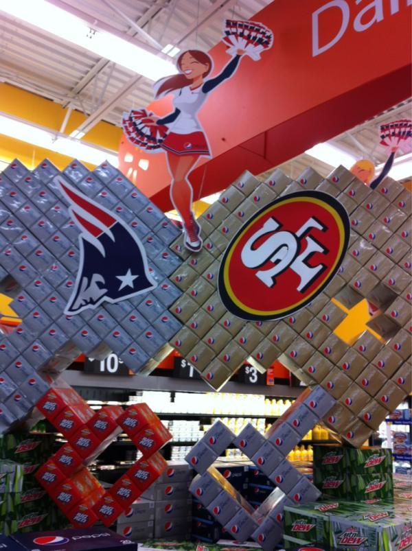 Apparently, somewhere in America, there's a Wal-Mart that believes the 49ers beat the Giants last weekend.