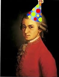 Happy Birthday, Mozart!!