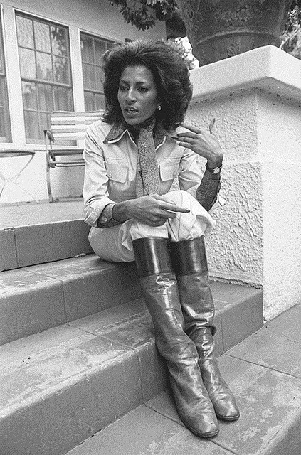 Foxy Brown is in the House | 1976 on Flickr.Actress Pam Grier (born Pamela Suzette on May 26, 1949) in repose, but still animated,.during interview in Los Angeles, CA. 1976 Source:Los Angeles Times photographic archive, UCLA Library. Copyright Regents of the University of California, UCLA Library. Find Us On Twitter | Facebook | Tumblr