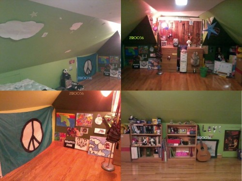 MY room. I love it. <3