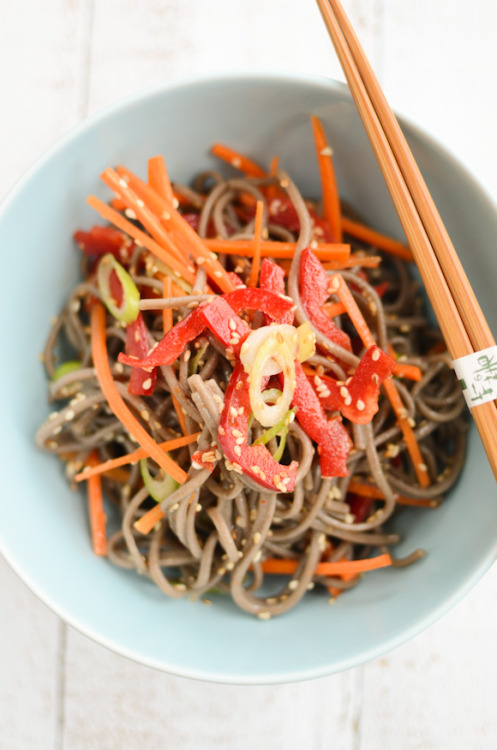 soba salad: recipe here