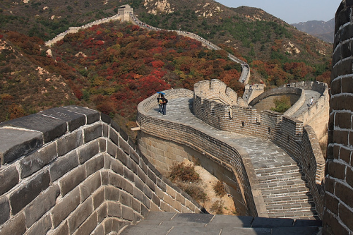 gadventures:  A shot of the Great Wall of China for this week's #FriFotos theme. On your bucket list?