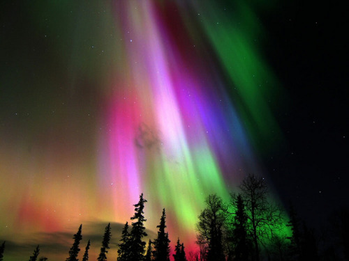 laughingsquid:  Aurora Borealis in Finland