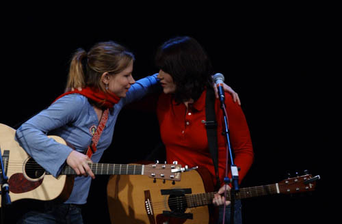 Courting Sketchfest: Girls Guitar Club (Mary Lynn Rajskub and Karen Kilgariff) by Jakub Mosur [Circa 2004]