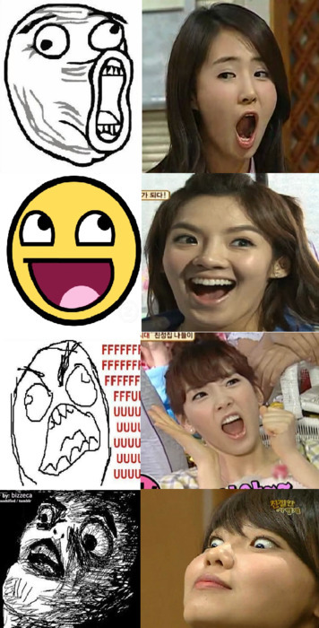 I see no difference. LMAO. OH SNSD <3