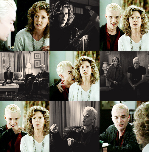 scooby-gang:  10 BTVS ships (in romantic/non-romantic way)  8. Spike/Joyce Summers Spike: